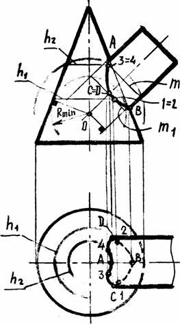 Пошаговый алгоритм решения задачи №8 — построение линии ...
